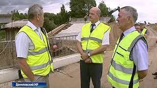 Выездная инспекция проверила ход реконструкции моста в Даниловском районе