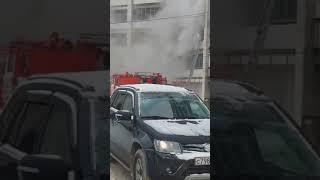 Пожар в квартире на Олеко Дундича