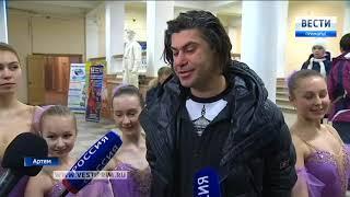 Николай Цискаридзе первым проголосовал на одном из избирательных участков в Артеме. 2