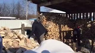 Снежный десант в Хабаровском крае