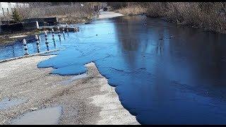 Битумные реки текут по улицам Лермонтова