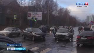 Большое количество серьёзных аварий произошло в регионе в выходные