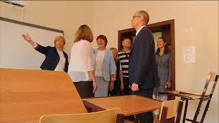 13 08 2018 Бречалов посетил новую школу в Ижевске, которую сдадут 1 сентября