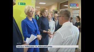 Первый замминистра Татьяна Яковлева отметила плюсы чувашского здравоохранения