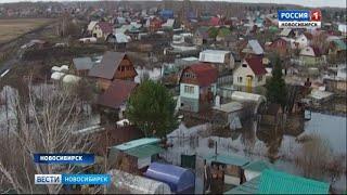 Садоводы в Новосибирской области начали готовиться к паводку