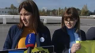 В Левенцовском микрорайоне Ростова прошёл пикет в поддержку чистого воздуха