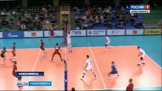 Полуфинальный раунд Кубка России открыли в Новосибирске