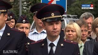 В Горно-Алтайске состоялась акция памяти