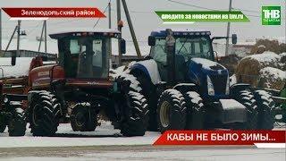 Миллионы субсидий ржавеют на улице: десятки хозяйств оставили на зиму комбайны под открытым небом