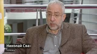 Ради книжной ярмарки в Красноярск на один день прилетел Николай Сванидзе