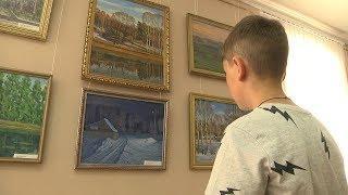 В Саранске открылась персональная выставка Бориса Занкина, художника из Кочкурова