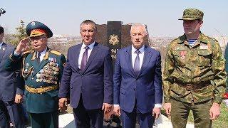 На Мамаевом кургане открыли памятник воинам-казахстанцам, защищавшим Сталинград