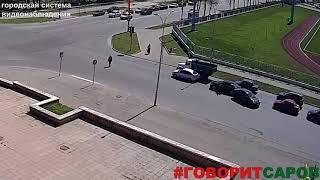 ДТП, Саров, перекресток ул Зернова ул Московская, 8 мая 2018