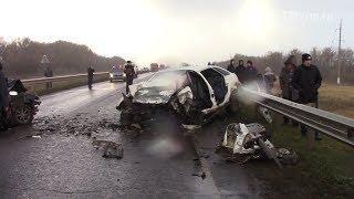 Страшная авария в Ромоданово