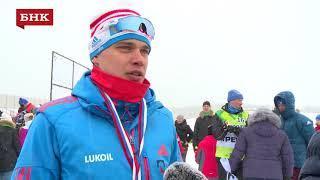 Иван Якимушкин - Чемпионат России по лыжным гонкам 2018 года