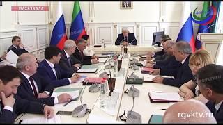 В Махачкале прошло заседание Президиума дагестанского парламента