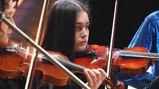 Аншлаг собрал концерт народного ансамбля скрипачей в ДК Биробиджана(РИА Биробиджан)