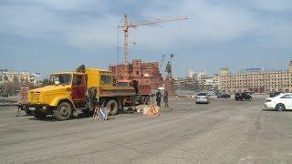 В Волгограде завершается первый этап капремонта дороги на улице Мира