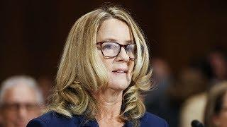 Выступление Кристин Форд в Сенате / Ньюзток RTVI