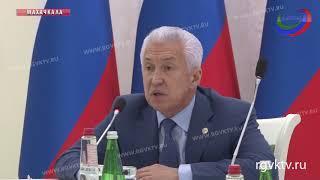 Владимир Васильев обсудил социально-экономическое развитие муниципалитетов РД с их главами