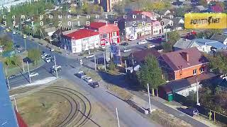 ДТП (авария г. Волжский) пр. Ленина ул. Молодогвардейцев 31-10-2018 15-20