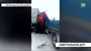 В страшной аварии погиб водитель грузовика: столкновение большегрузов КАМАЗ и Мерседес на трассе М7