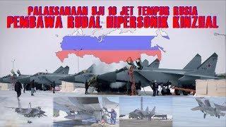 Ujicoba 10 Jet Tempur Rusia, Sang Pembawa Rudal Hipersonik