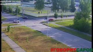 ДТП, Саров, перекресток ул Менделеева ул Советская, 12 июля 2018