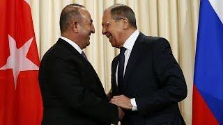 Лавров и Чавушоглу обсудили Сирию
