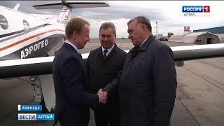 Виктор Томенко прибыл в Барнаул