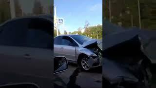 ДТП с пострадавшими на проспекте Фрунзе в Ярославле