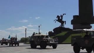 Саратовские участники бронепробега Москва-Брест-Москва вернулись на Волгу