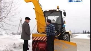 Новая техника для уборки снега