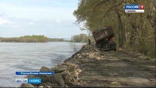 Грунтовые воды подтопили погреба в 30 частных домах в Хакасии