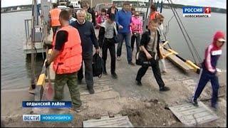 Работу паромов в Ордынском районе планируют продлить до ноября