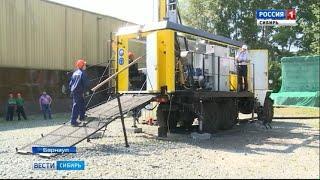 Предприятия Алтайского края представили буровую установку нового поколения