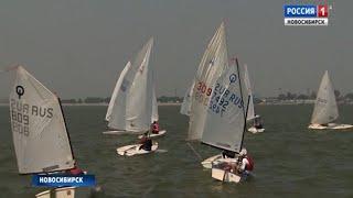 Соревнования по яхтенному спорту среди детей стартовали в Новосибирске
