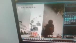 Избиение продавщицы попало на видео