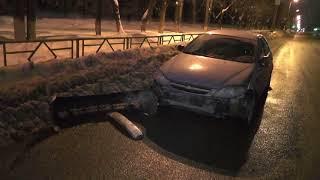 Наказали за интимную поездку и ДТП водителя Хендэ Соляриса  Место происшествия 10 04 2018