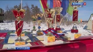 В Волгограде мотострелки соревновались в десятикилометровой лыжной гонке