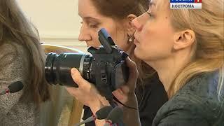 Встреча Сергея Ситникова с представителями костромских СМИ. Телеверсия.