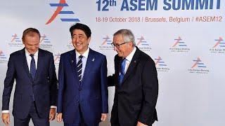 """Саммит """"Азия-Европа"""" в Брюсселе"""