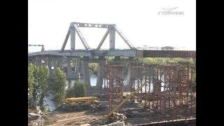 В Самаре завершается надвижка пролетного строения Фрунзенского моста