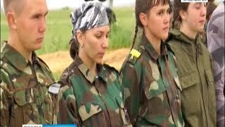 Под Красноярском прошли военно-патриотические соревнования для школьников