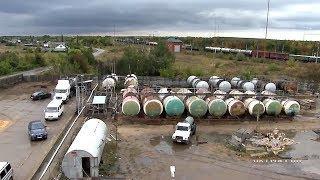 Под городом Саратовом полицейские остановили нелегальную переработку нефти
