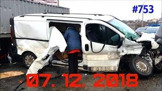☭★Подборка Аварий и ДТП/Russia Car Crash Compilation/#753/December 2018/#дтп#авария