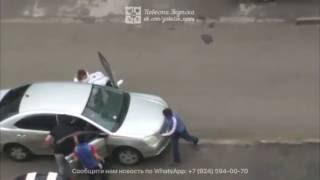 Хулиганы vs. Бутлегеров. Драка в Якутске (26.07.2016)