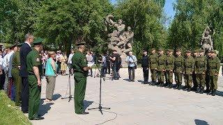 Волгоградские призывники отправились на службу в Президентский полк