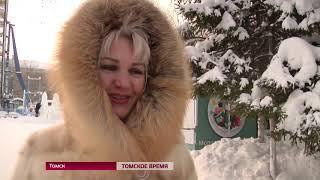 Юные томичи просят Деда Мороза сделать РФ великой державой