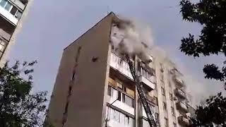 Пожар на Лермонтова